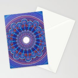 Jewel Moon Stationery Cards