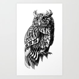 Owl 2.0 Art Print