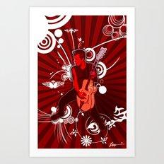 The Rocker Art Print