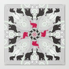 Newport Elephants Canvas Print