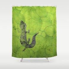 Leopard Gecko Shower Curtain