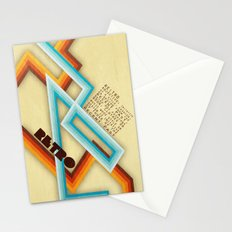 Retro Meaning Stationery Cards