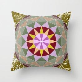 Spiny Star Throw Pillow