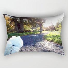 Ivanna the Samoyed Rectangular Pillow