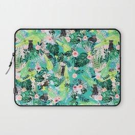 Jungle Black Cat Laptop Sleeve