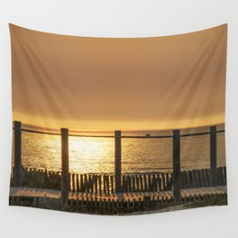 late afternoon in the dunes Wall Tapestry