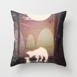 Rabbit Spirit Throw Pillows | Society6