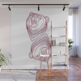The king of bears Wall Mural