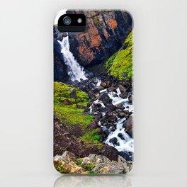 Fardagafoss, Egilsstadir, East Region, Iceland (2) iPhone Case