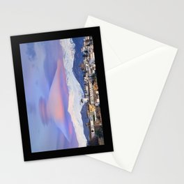 NASA APOD. ASTRONOMY PICTURE OF THE DAY! Lenticular clouds over Granada and Sierra Nevada at sunset Stationery Cards