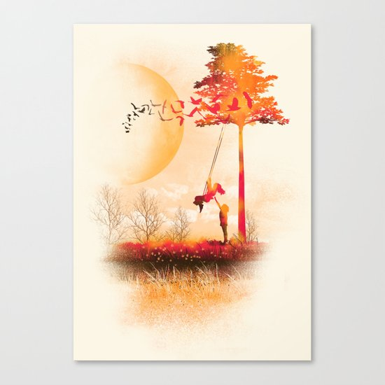 A Moment Like Forever Canvas Print