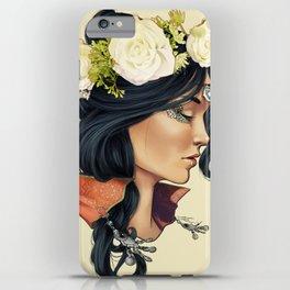 Bohemian Girl iPhone Case