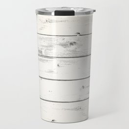 Light Natural Wood Texture Travel Mug