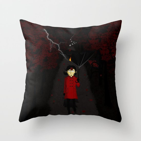 Misforautumn Throw Pillow