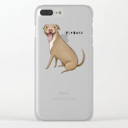 Pitbull Clear iPhone Case