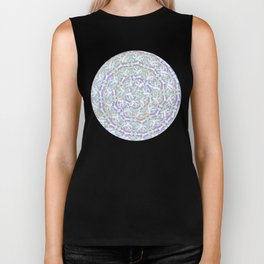 Ring of Angels Pattern Biker Tank