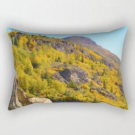 Alaskan Autumn - Painting Rectangular Pillow