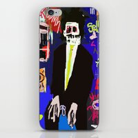 basquiat iPhone & iPod Skins featuring My Basquiat by Robert Morris