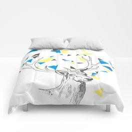 Rainbow Collection / deer Comforters