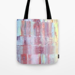 Rainbow Abstract Art Tote Bag