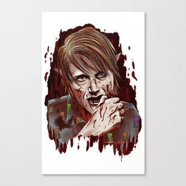 Werewolf!Nigel Canvas Print