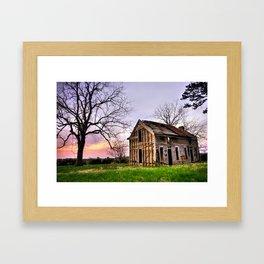 Abandoned Memories - Gateway, Arkansas Framed Art Print