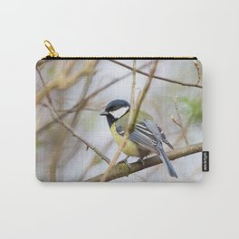 The Great Tit Carry-All Pouch