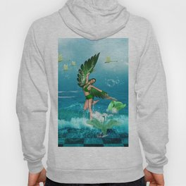 Wonderful fairy of birds Hoody
