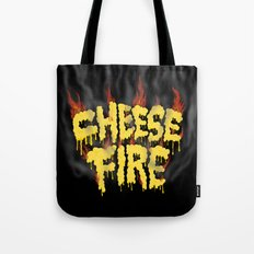 CHEESE FIRE!!! Tote Bag