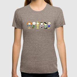 Mutant Superhero Friends T-shirt