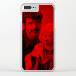 George Lucas - Celebrity (Photographic Art) Clear iPhone Case