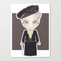 Violet Crawley, Dowager Countess of Grantham Canvas Print