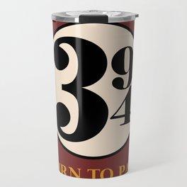 Turn to Page 394 Travel Mug