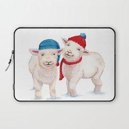 Winter Lambs Laptop Sleeve