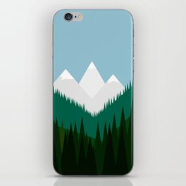 Pacific Northwest Mountains iPhone Skin