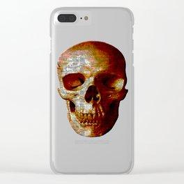 Exploiting Digital Behavior (P/D3 Glitch Collage Studies) Clear iPhone Case