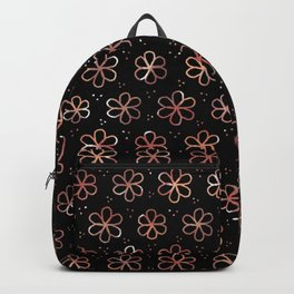 Chocolate Flowers - LaurensColour Backpack