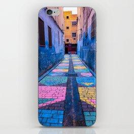 Rainbow Road iPhone Skin