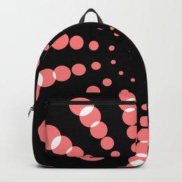 simple light spiral Backpack