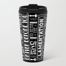 What is best in life... Travel Mug
