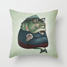 Herring Throw Pillow