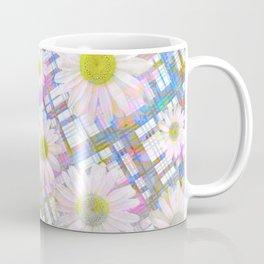Daisy Plaid Coffee Mug