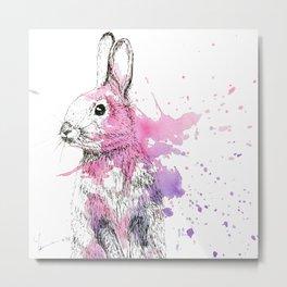 Bunny II Metal Print