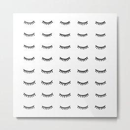 40 winks Metal Print