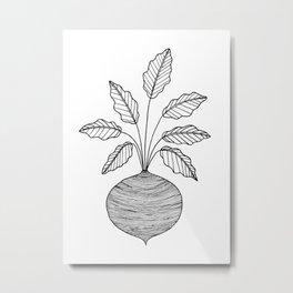 Beets Metal Print