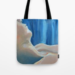 Past Love's Reflection Tote Bag