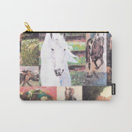 """""""Horse Collage II"""" Carry-All Pouch"""