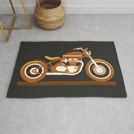 Bobber Motorcycle Rug