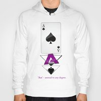 ace Hoodies featuring Ace by drQuill