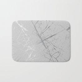 Silver Splatter 089 Bath Mat
